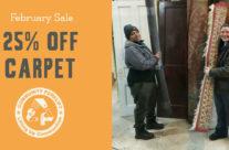 February Sale:  Carpet