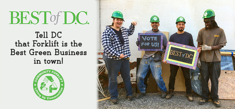 It's that time again: Help Us Win Best Green Business of 2019!