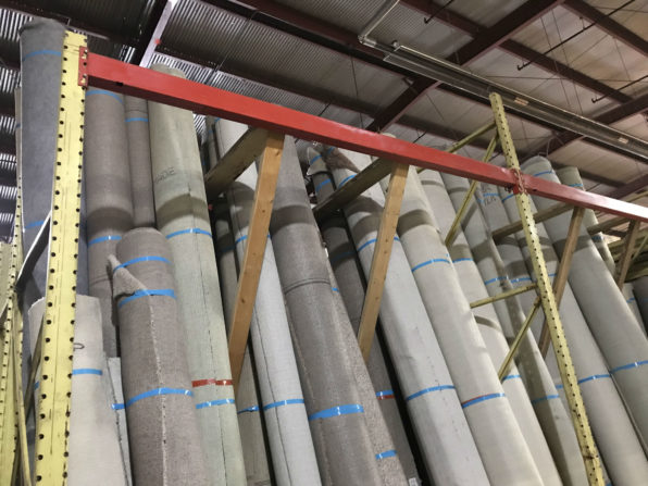 We Ve Just Filled Our Racks With Rolls Of Surplus Carpet So You Ll Find A Nice Variety Neutral And Colorful Options