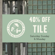 Three Day Tile Sale