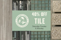 Three Day Tile Sale