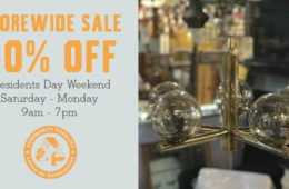 Storewide Sale for Presidents Day Weekend