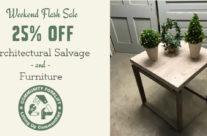 Weekend Salvage Sale