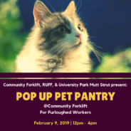 Last Day for the Pop Up Pet Pantry