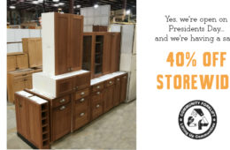 Yes, we're open on Presidents Day – and we're having a Storewide Sale!