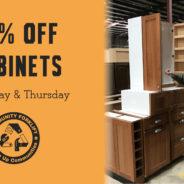 Midweek Cabinet Sale!