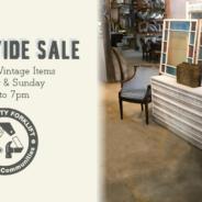 We're having a storewide sale!