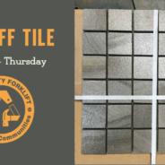 Three Day Tile Sale!