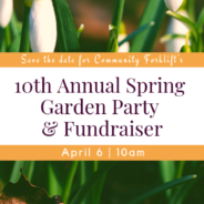 You're invited to the Garden Party!