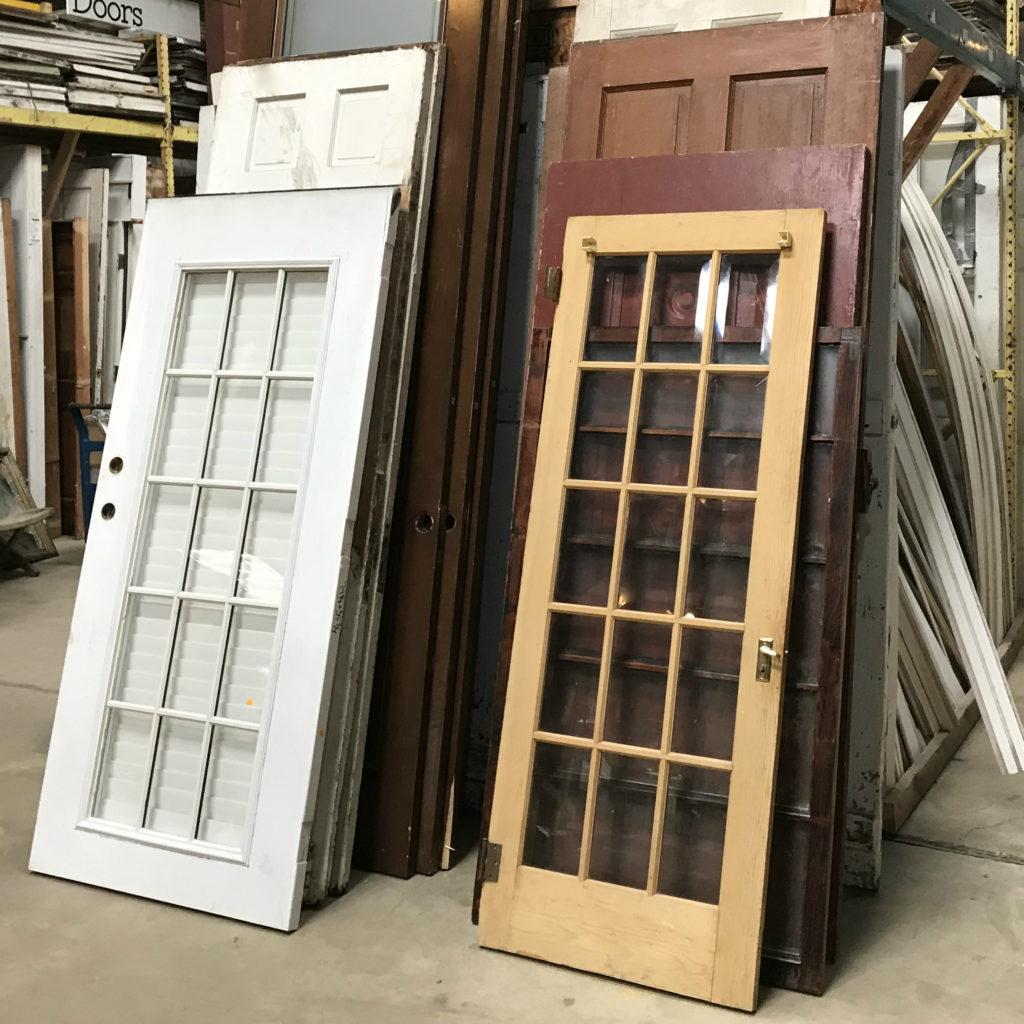 Photo of assorted doors