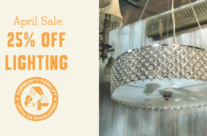 April Lighting Sale