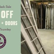 Sale on Doors & Windows