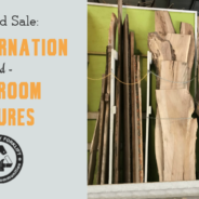 This weekend, save on Treincarnation lumber and bathroom fixtures