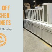 40% off Cabinets