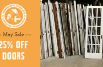 May Sale on Doors