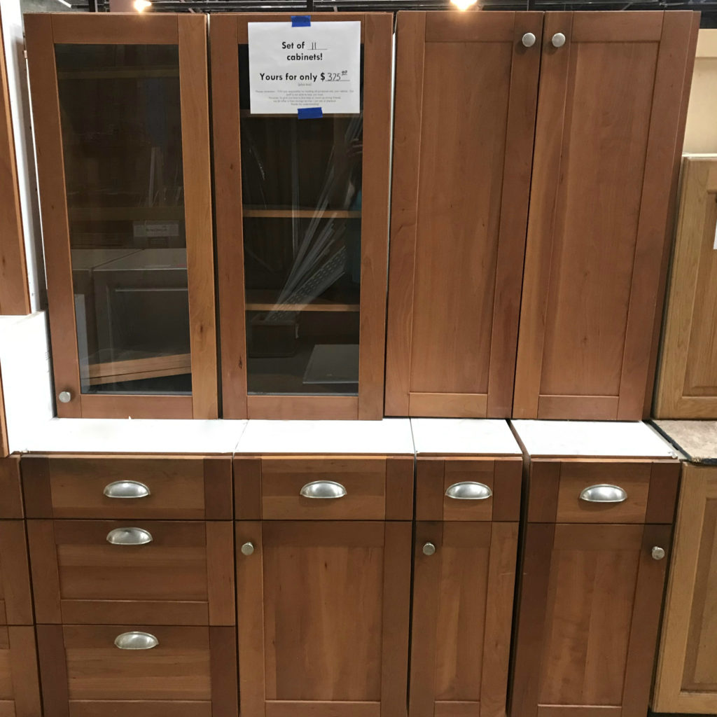 Weekend sale: kitchen cabinets are 50% off! | Community Forklift