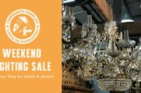 Weekend Lighting Sale – and gift ideas for Mom