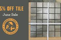June Tile Sale