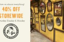 40% off Storewide Sale