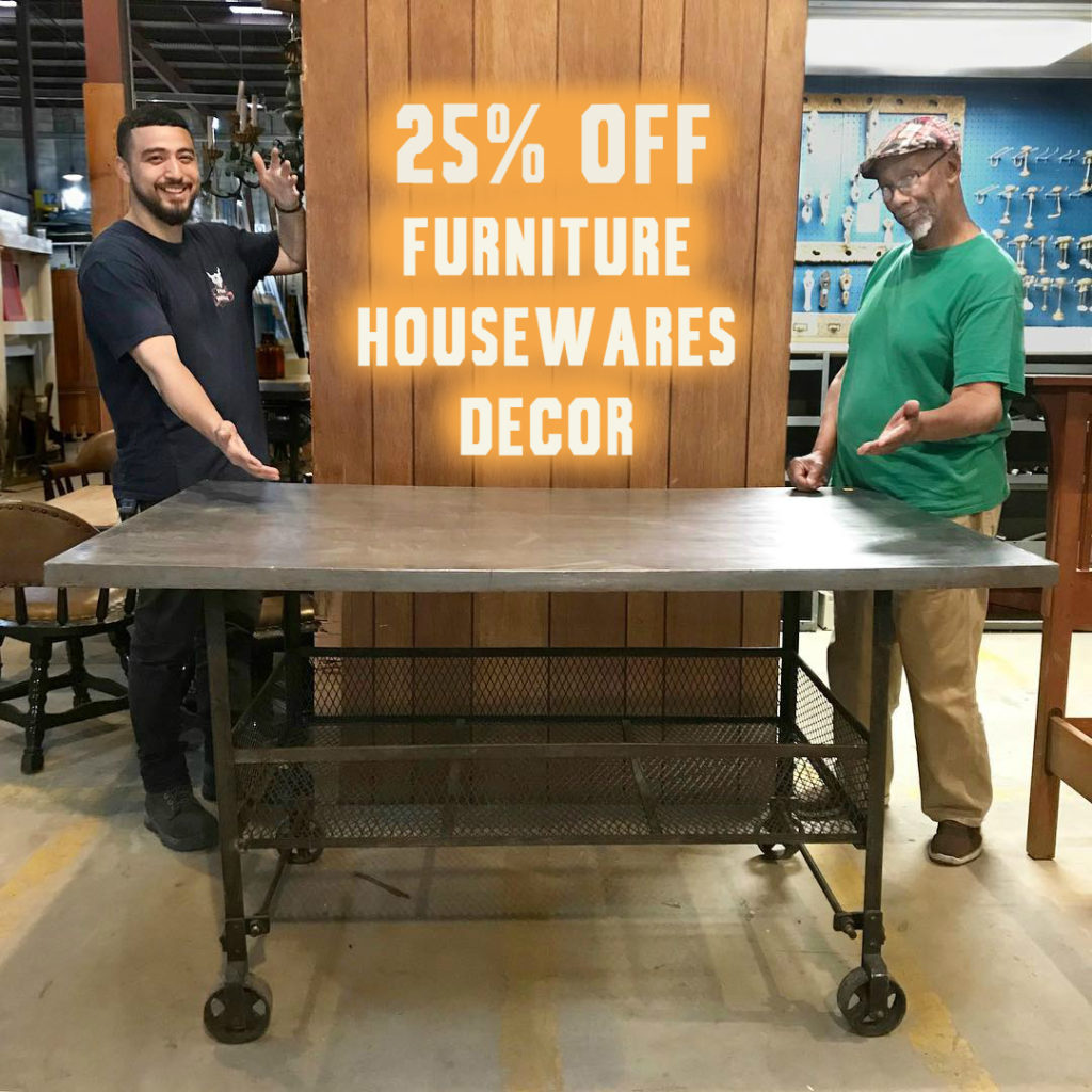 25% off Furniture, Housewares & Decor