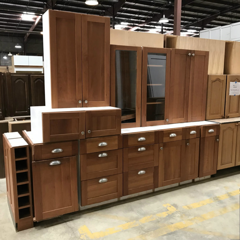 photo of cabinets