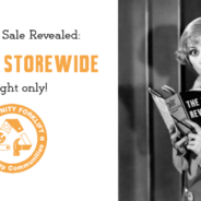 Storewide Sale tonight during the party