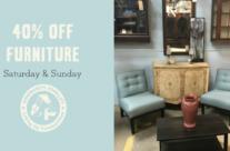 Weekend Furniture Sale
