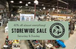 Weekend sale – 40% off storewide