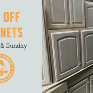 Weekend Cabinet Sale