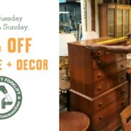 50% off Furniture, Housewares, & Decor