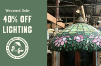 Weekend Lighting Sale – and Furniture too!
