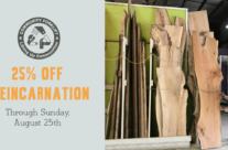 Treincarnation Lumber Sale