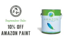 September Sale:  10% off Amazon Paint