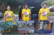 Latinx community puts upcycled art on parade