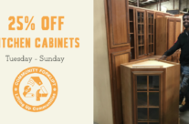 25% off cabinets this week