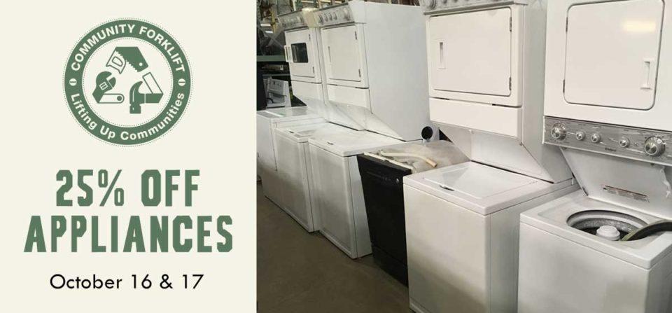 2 Day sale: 25% off appliances