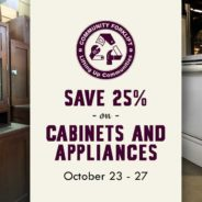 This week, save 25% on Cabinets & Appliances