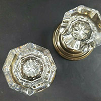 Crystal Doorknobs on Community Forklift eBay site