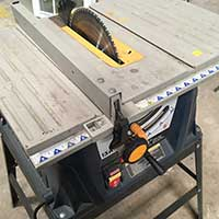 Table saw at Community Forklift
