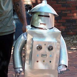 Robot Halloween Costume DIY