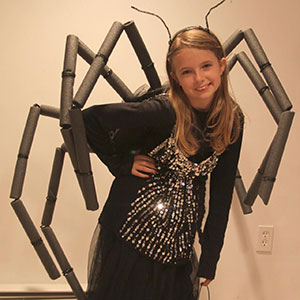 Spider Halloween Costume DIY