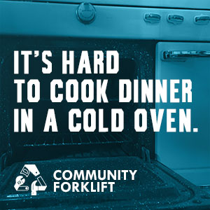 It's hard to cook dinner in a cold oven.