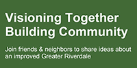 Visioning Together Building Community logo