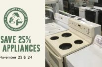 Weekend Sale: Save 25% on Appliances