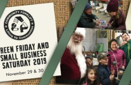 Green Friday & Small Business Saturday 2019