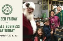Save the Dates: Green Friday and Small Business Saturday
