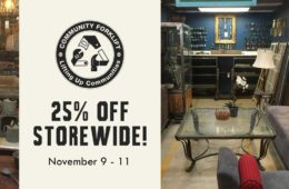 Storewide sale for the long weekend