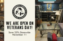 We are Open on Monday! 25% Off Storewide