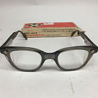 Vintage safety glasses