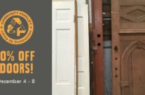 Save 50% on Doors